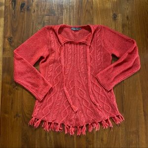 Prana Knit Sweater Size Small